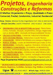 SERVIÇO: OBRAS - CONSTRUçõES & REFORMAS ESPECIALIZADAS +TODOS+RIO DE JANEIRO - RJ